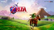 Legend of Zelda Ocarina of Time 3D website image