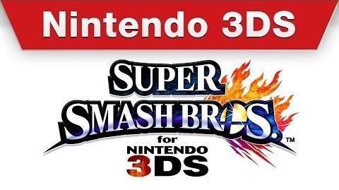 Super Smash Bros. for 3DS - E3 2014 Trailer