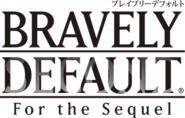 Bravely Default For the Sequel logo