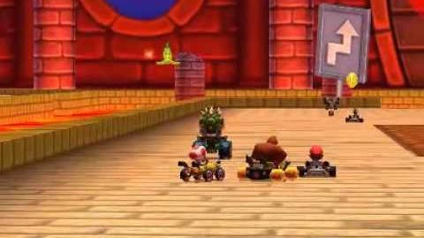 Mario Kart 7 - Shell Cup gameplay