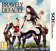 Bravely Default ENG box art