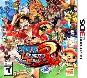 One Piece Unlimited World Red JP box art