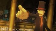 Professor Layton VS Ace Attorney screenshot 1