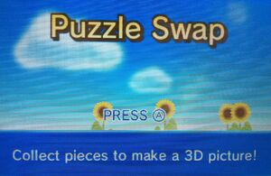 Puzzle Swap title screen