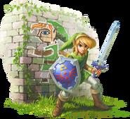 Zelda ALBW artwork