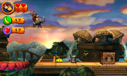 Donkey Kong Country Returns 3D screenshot 4