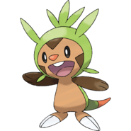 Chespin - Pokémon X and Y