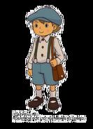 Luke Triton (Professor Layton VS Ace Attorney)