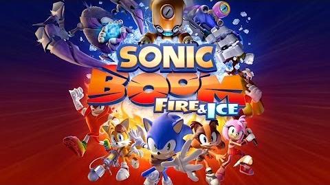 Sonic Boom Fire and Ice - E3 2016 Trailer