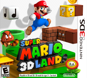 Super Mario 3D Land box art