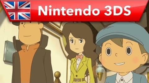Professor Layton and the Azran Legacy - European launch trailer