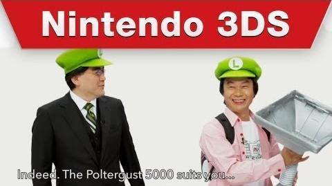 Luigi's Mansion Dark Moon - Interview with Mr. Miyamoto