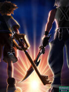 Kingdom Hearts 3D promotional image