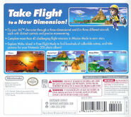 Pilotwings Resort back cover
