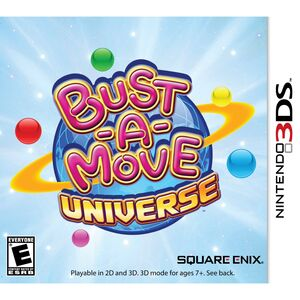 Bust-a-Move Universe cover