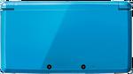 Cerulean Blue 3DS closed