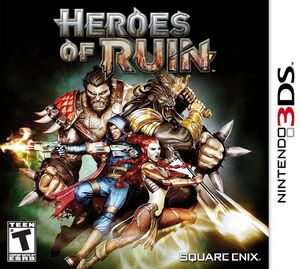 Heroes of Ruin box art