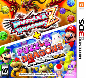 Puzzle & Dragons Z US box art