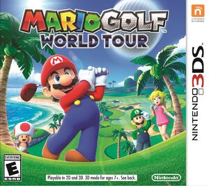 Mario Golf World Tour box art