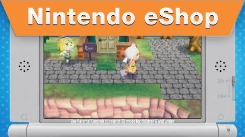 Animal Crossing New Leaf - Nintendo eShop commercial