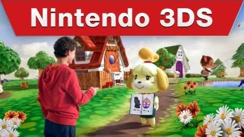 Animal Crossing New Leaf - TV Commercial