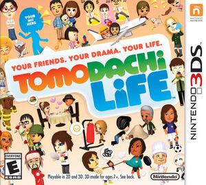 Tomodachi Life box art