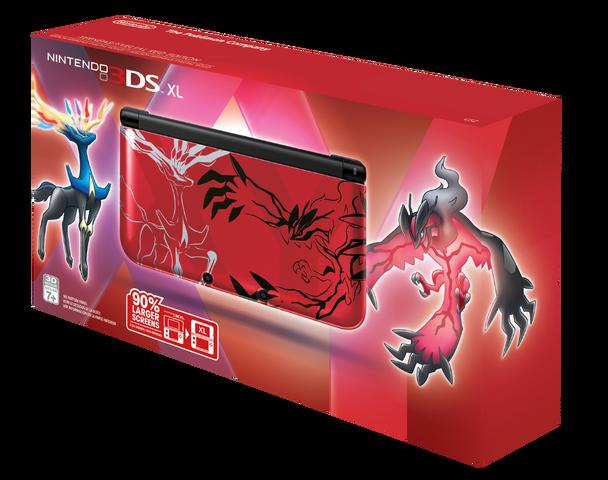 Image - Nintendo 3DS XL - Pokémon Y limited edition.png | Nintendo ...