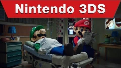 Nintendo 3DS - Mario & Luigi Dream Team TV Bloopers