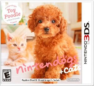 Nintendogs Cats cover 2
