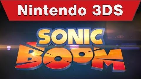 Sonic Boom Shattered Crystal - E3 2014 trailer