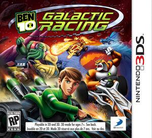 Ben 10 Galactic Racing box art