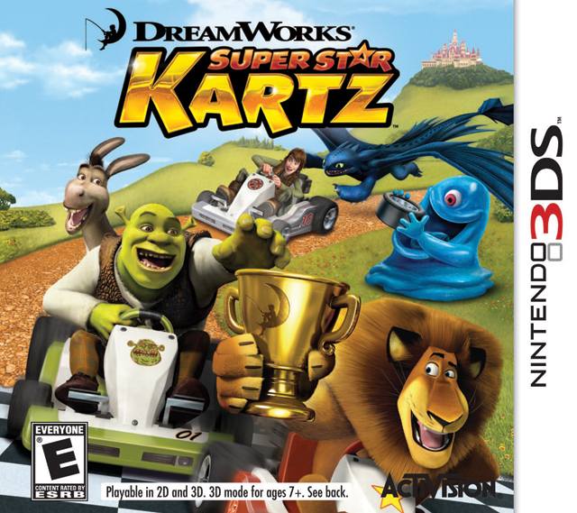 Dreamworks Super Star Kartz | Nintendo 3DS Wiki | FANDOM