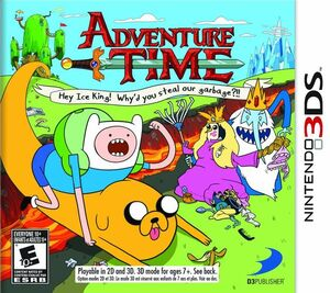 Adventure Time box art