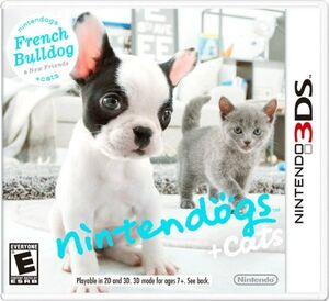 Nintendogs Cats cover 3