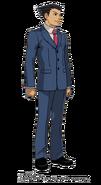 Phoenix Wright (Professor Layton VS Ace Attorney)