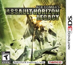 Ace combat assault horizon legacy boxart