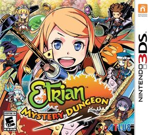 Etrian Mystery Dungeon box art
