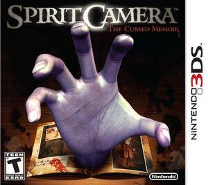 Spirit camera the cursed memoir boxart