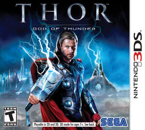 Thor God of Thunder box art