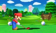Mario Golf World Tour screenshot 1