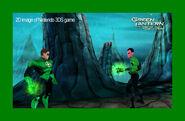 Green Lantern 3DS screenshot 2