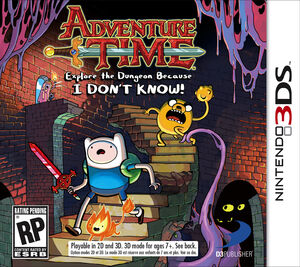 Adventure Time Explore the Dungeon box art