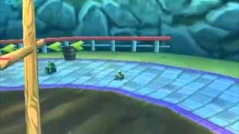 Mario Kart 7 - Website Footage