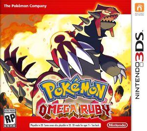 Pokémon Omega Ruby box art