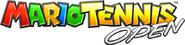 Mario Tennis Open logo