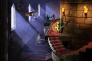 ALBW Link in a dungeon