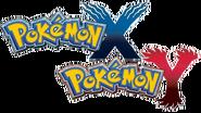 Pokémon X and Y logos