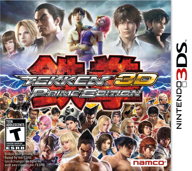 Tekken 3d: prime edition vgchartz.