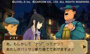 Professor Layton vs Ace Attorney screenshot 26