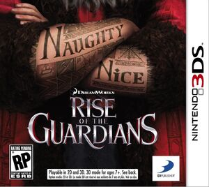 Rise of the Guardians box art